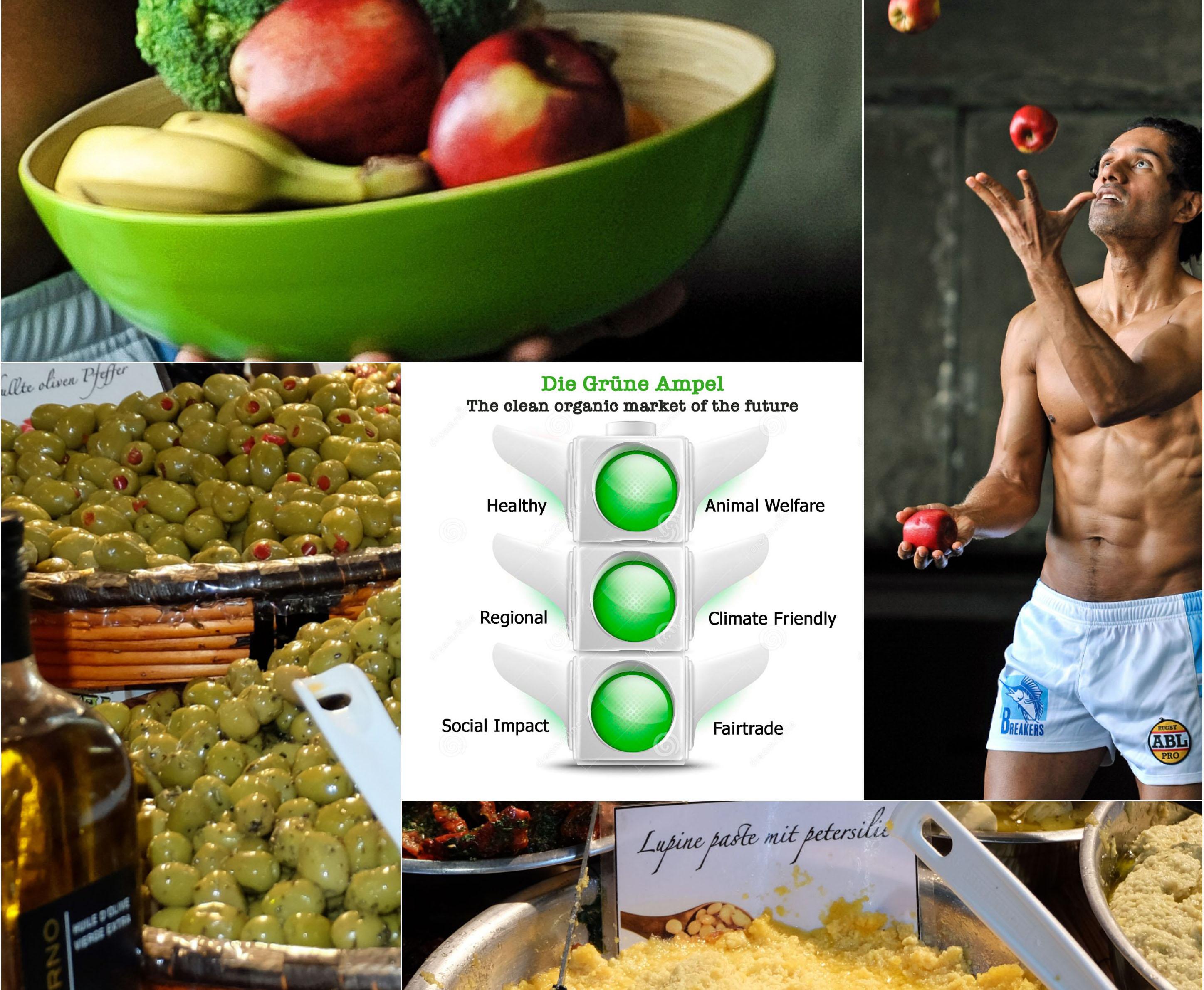 Crowdfunding StartUp Die Grüne Ampel, der Bio-Supermarkt der Zukunft