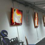 Ölmalerei Karlo Grados Oil painting pintura al óleo Roman Novitzky Stuttgart Ballett