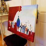 Ölmalerei Karlo Grados Oil painting pintura al óleo